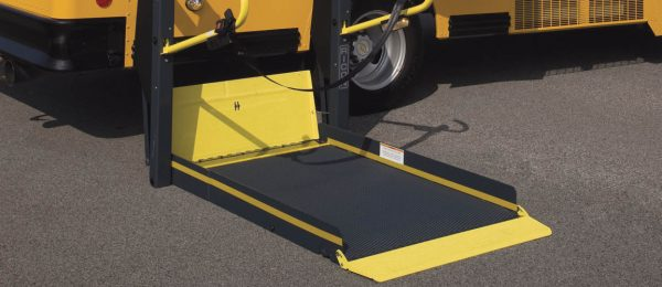 Wheel Chair Accessible Bus by Telin Transportation Group