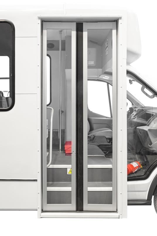 Closed doors by Telin Transportation Group