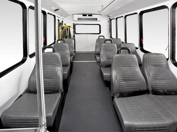 Interior Paratransit bus by Telin Transportation Group