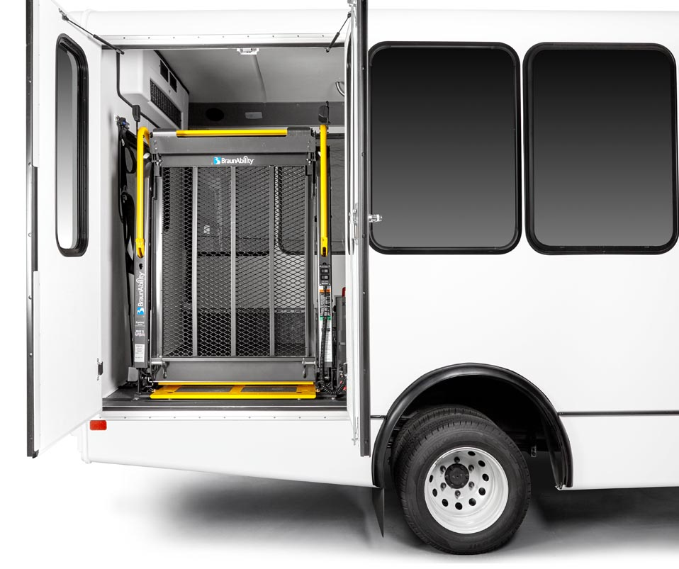 Paratransit Bus by Telin Transportation Group